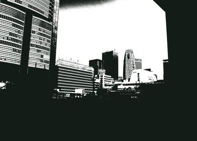 Black and White Shinjuku