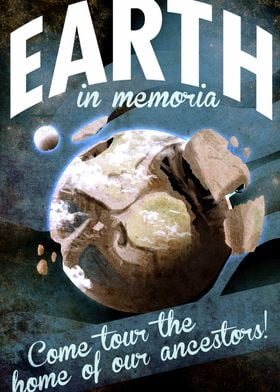 Visit Earth Space Travel