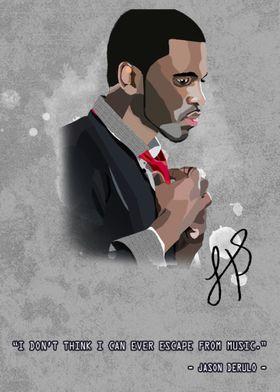 Jason Derulo Canvas