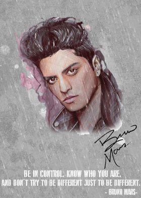 Bruno Mars Canvas