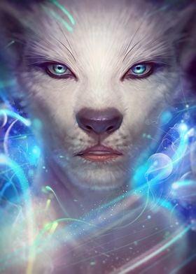 Mystical cat