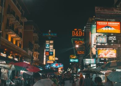 Chaos on Khao San