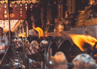 Temple Flames