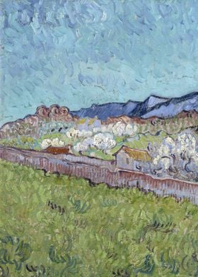 View of the Alpilles 1889