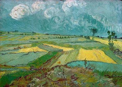 Wheat Fields at Auvers Und