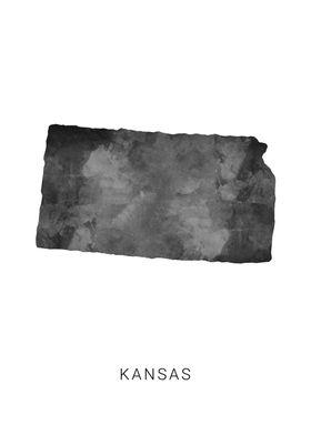 Kansas state map