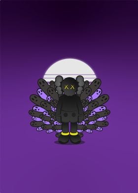 Kaws's spooky night
