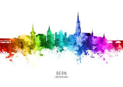 Bern Switzerland Skyline