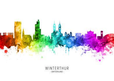 Winterthur Skyline