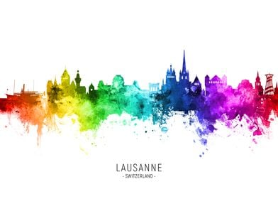 Lausanne Skyline