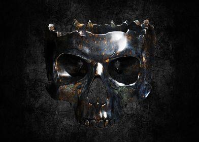metallic skull 3