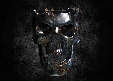metallic skull 2