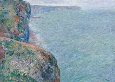 The Sea Seen from the Clif