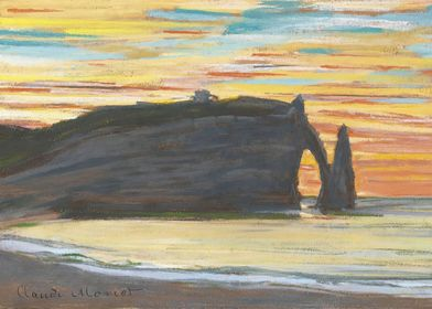 Etretat Cliff of Aval 18