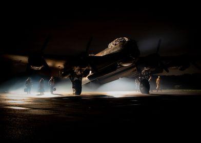 Lancaster Bomber Night