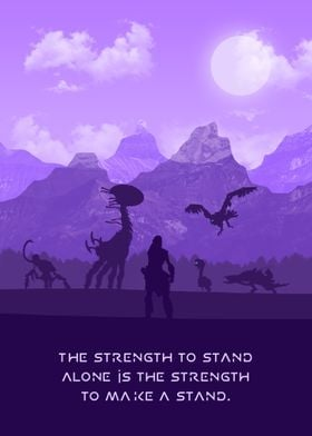 Strength To Make A Stand