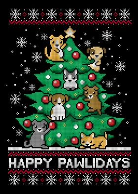 Happy pawlidays