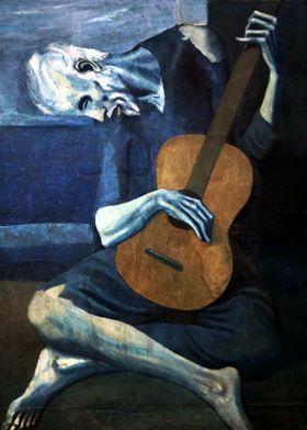 Picasso Old Guitarist