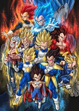 The Evolution of Vegeta II