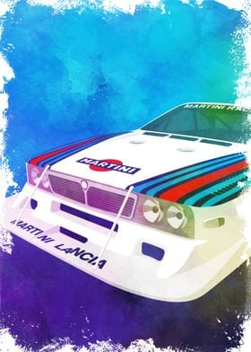 Martini Racing Lancia Beta