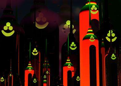 Midnight Red Hot Silos