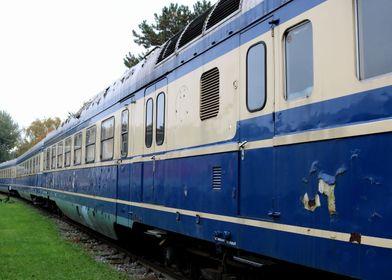 Lost Places Blue Train