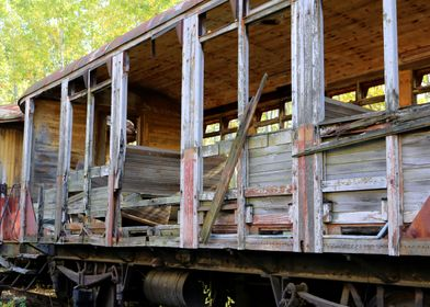 Lost Places Old Carriage
