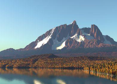 Sundered Mountain Autumn