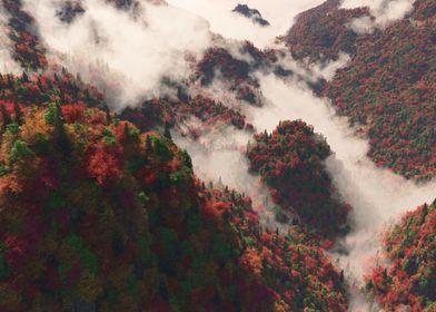 Misty Ridge Autumn