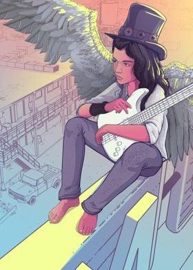 Comtemplative angel