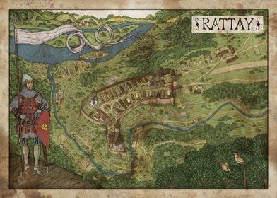 Rattay Map
