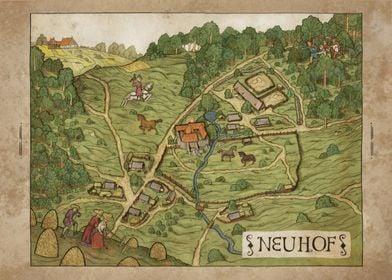 Neuhof Map
