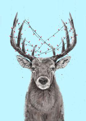 Xmas deer II