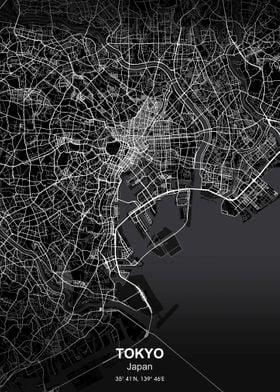 tokyo city map