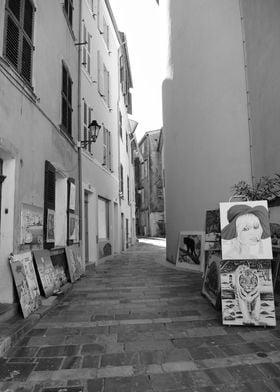 Artist in Saint Tropez
