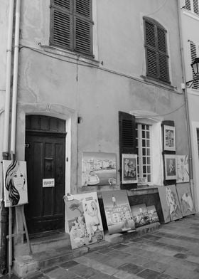Artist in the street