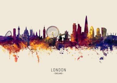 London Skyline England