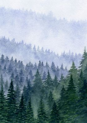 Forest Mountains II