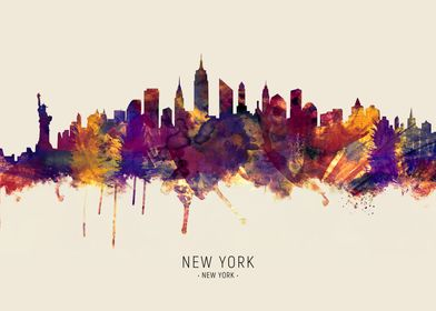 New York Skyline New York