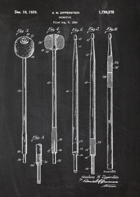 1924 Drumstick Patent