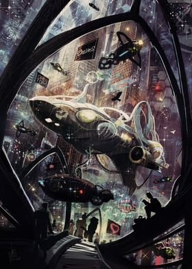 SpacePort Starship
