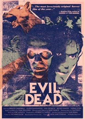 Evil Dead Custom Poster