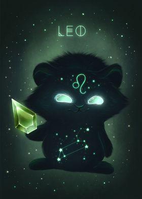 Leo Zodiac Monster