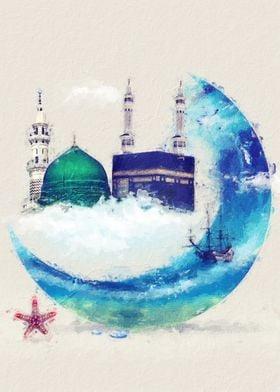 Islamic mecca madina