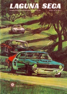 Laguna Seca Trans American Sedans Championship April 1970