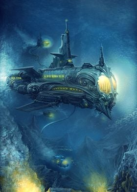 Steampunk Submersible