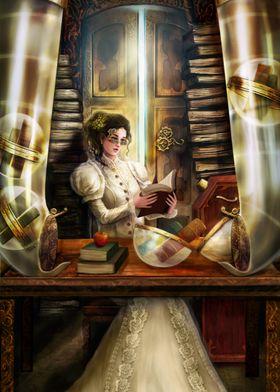 Steampunk Librarian