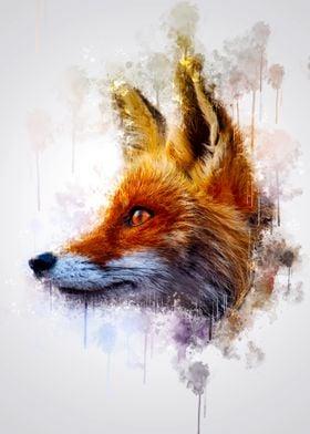 Fox Head Sideways
