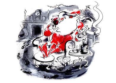 Chilled Santa