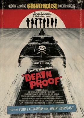 Death Proof Movie Cover